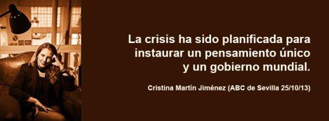 Cristina Martín - Crisis planificada
